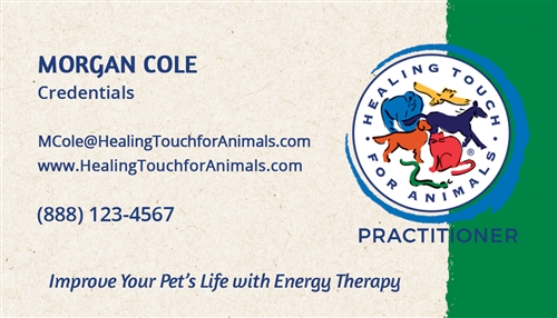 Healing touch for animals business cards hta business cards larger photo colourmoves
