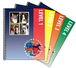 Levels 1-4 Healing Touch for Animals Workbooks